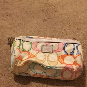 Coach multicolored bag